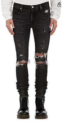 RtA Men's Distressed Skinny Jeans $315 thestylecure.com