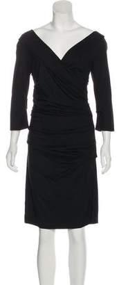 Diane von Furstenberg Long Sleeve Dress