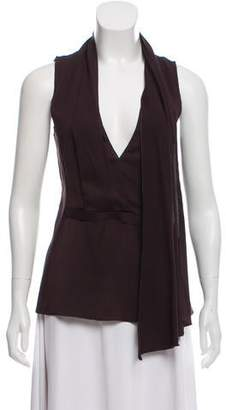 Narciso Rodriguez Sleeveless Scarf Top