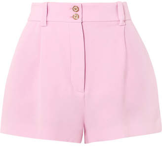 Versace Silk-crepe Shorts - Pink
