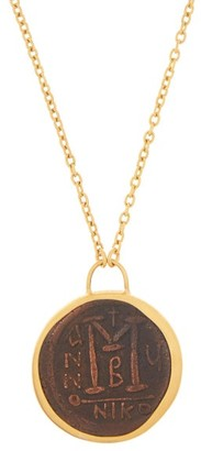 Eli Halili - Byzantine Coin 22kt Gold Pendant Necklace - Womens - Gold