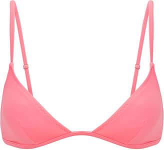 Solid & Striped Lulu Pink Bikini Top