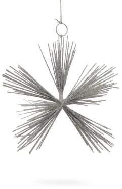Briefing Ray Metallic Star Ornament