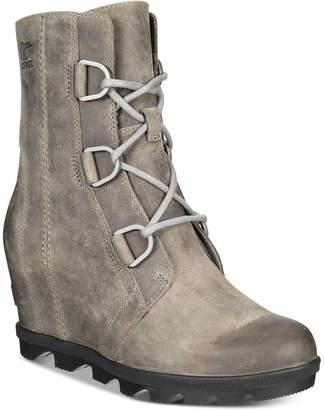 Sorel Women Joan of Arctic Wedge Ii Waterproof Booties Women Shoes