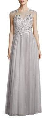 Basix II Black Label Crochet Lace Top Gown
