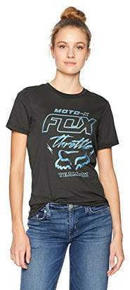 Fox Junior's Throttle Maniac Boyfriend Fit Short Sleeve T-Shirt