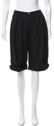 Lanvin Mid-Rise Cropped Pants