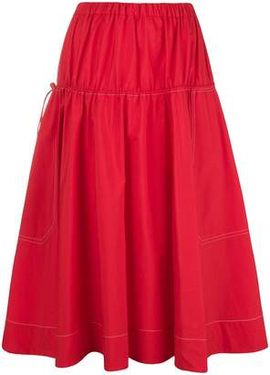 Marni toggle full skirt