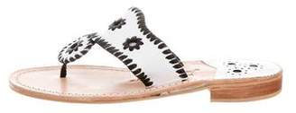 Jack Rogers Embellished Thong Sandals
