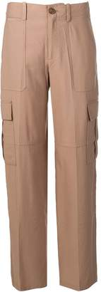 Vince wide leg cargo trousers