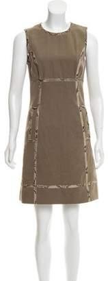 Michael Kors Python Trim Dress