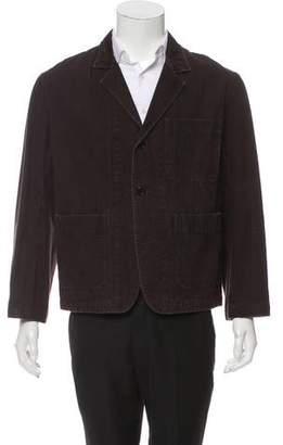 Margaret Howell Woven Notch-Lapel Jacket