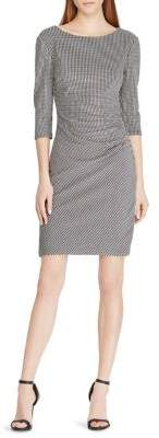 Lauren Ralph Lauren Knit Jacquard Sheath Dress
