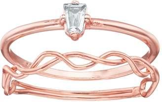 Lauren Conrad Twist Ring Set