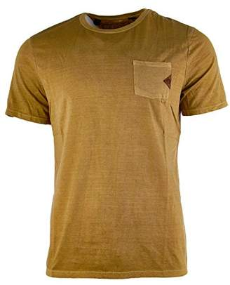 Buffalo David Bitton Men's Taluck Short Sleeve Fashion Basic Tee Shirt