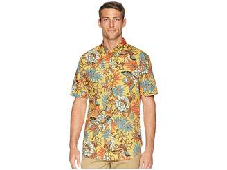 Reyn Spooner Vintage Hawaiian Floral Tailored Aloha Shirt