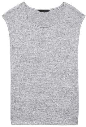 Banana Republic Petite Luxespun Side-Slit T-Shirt