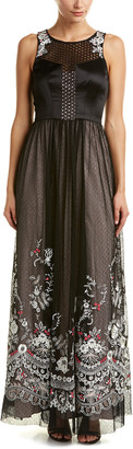 Karen Millen Floral Lace Maxi Dress