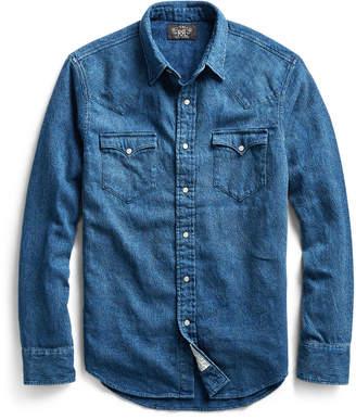 Ralph Lauren Buffalo Indigo Denim Shirt