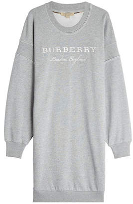 Burberry Cotton Sweatshirt Dress