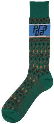 Prada Chevron Wool Socks