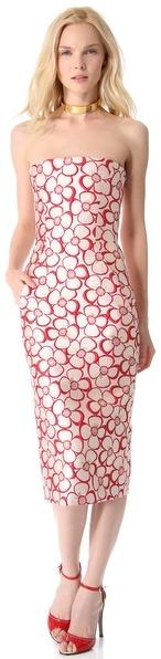 DSquared Dsquared2 Strapless Dress