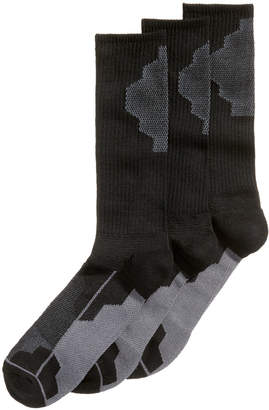 Perry Ellis Men's 3-Pk. Colorblocked Performance Casual Socks