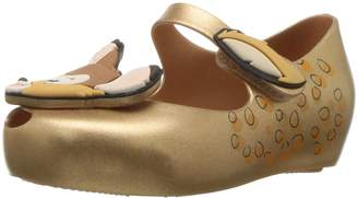 Mini Melissa Girls' Mini Ultragirl + Bambi Ballet Flat