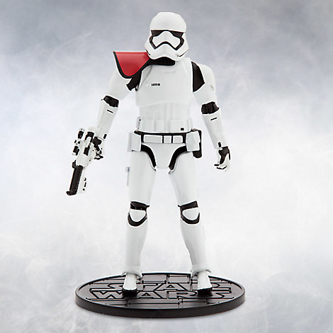 First Order Stormtrooper Officer Elite Series Die Cast Action Figure - 6 1/2'' - Star Wars: The Force Awakens