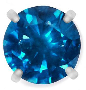 Macy's Men's Single Stud Diamond Earring in Stainless Steel (1/4 ct. t.w.)