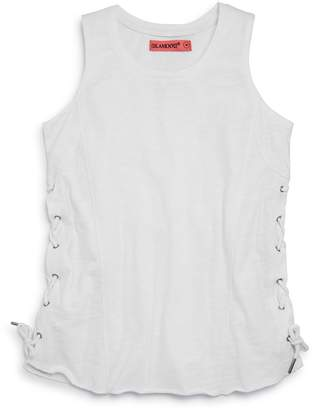 Blank NYC Blanknyc Girls' Lace-Up Tank
