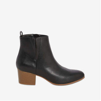 2575c5f3728c Black Stacked Heel Boots For Women - ShopStyle Canada