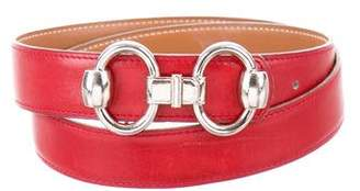 Hermes Vintage Reversible Horse Bit 24mm Belt Kit