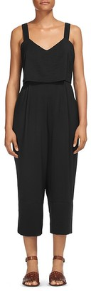 Whistles Lucy Tiered Jumpsuit $259 thestylecure.com