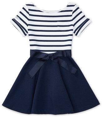 Ralph Lauren Striped Dress, Toddler & Little Girls (2T-6X) $59.50 thestylecure.com
