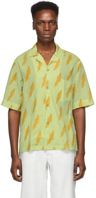 Acne Studios Green Simon Short Sleeve Shirt