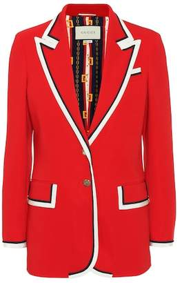 Gucci Stretch cady blazer