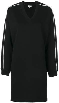 Kenzo logo print sweatshirt dress