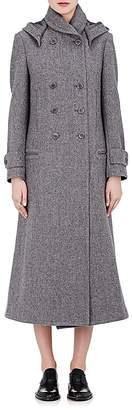 Yohji Yamamoto Regulation Women's Wool Felt Hooded Coat