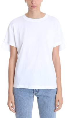 Helmut Lang Shifted White T-shirt