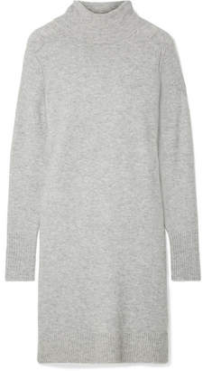 J.Crew Lowell Knitted Turtleneck Dress - Gray