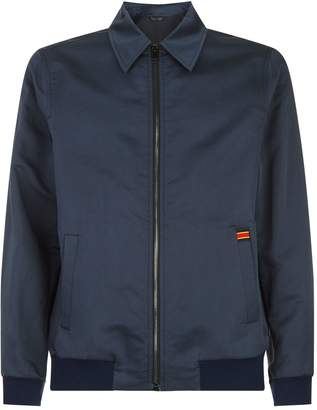 Gieves & Hawkes Stripe Trim Harrington Jacket