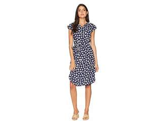 Anne Klein Shirtdress with Open Collar Women's Dress