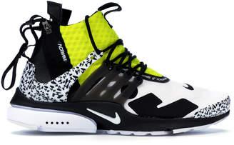 Nike Presto Mid Acronym Dynamic Yellow