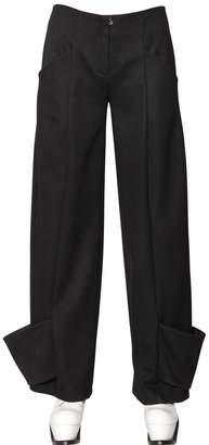J.W.Anderson Cuffed Wool Trousers