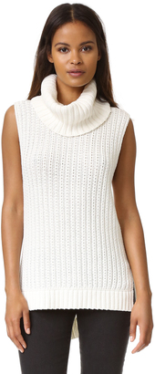 Ella Moss Kinley Sleeveless Sweater $195 thestylecure.com