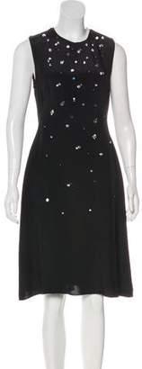 3.1 Phillip Lim Silk A-Line Midi Dress