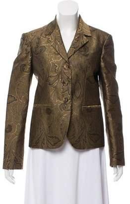 Michael Kors Jacquard Structured Blazer