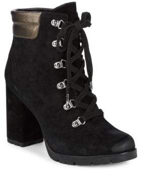 Sam Edelman Suede Military Booties
