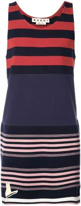 Marni striped tank sweatshirt